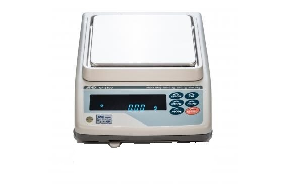 A&D Weighing® GF-6000N NTEP Balance     (6100g. x 0.1g.)