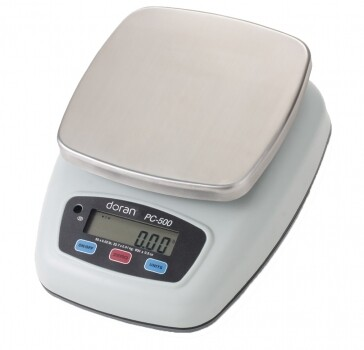 Doran® PC500-25 Washdown Portion Control Scale  (25 lb. x 0.01 lb.)