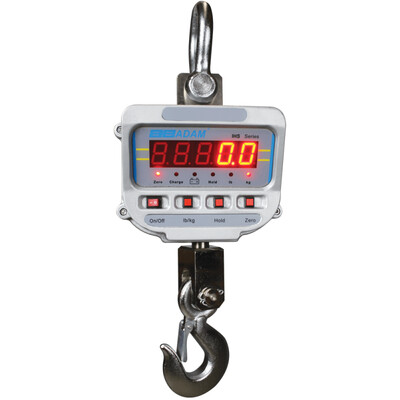 Adam Equipment® IHS 2a Crane Scale  (2000 lb. x 0.5 lb.)