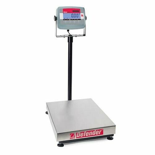 Ohaus® D31P60BR Defender™ 3000 Bench Scale  (132 lb. x 0.02 lb.)