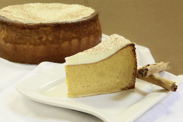 Pumpkin Spice Cheesecake -  The New Pumpkin Pie