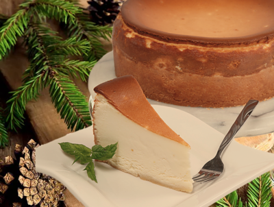 Eggnog Cheesecake - Traditional Holiday Favorite