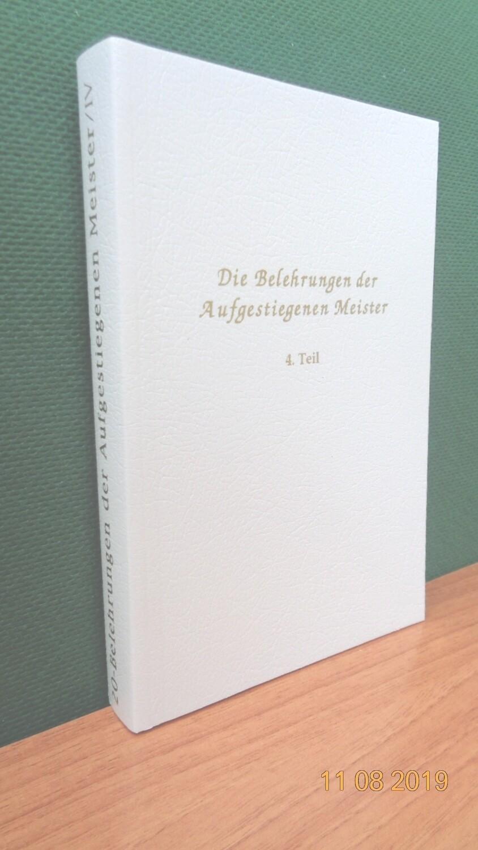 Belehrungen der Aufgestiegenen Meister, Band 4