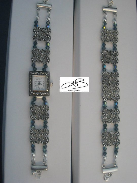EMPYREAN WATCH & BRACELET SET/ PARURE D'EMPYREAN BRACELET ET MONTRE