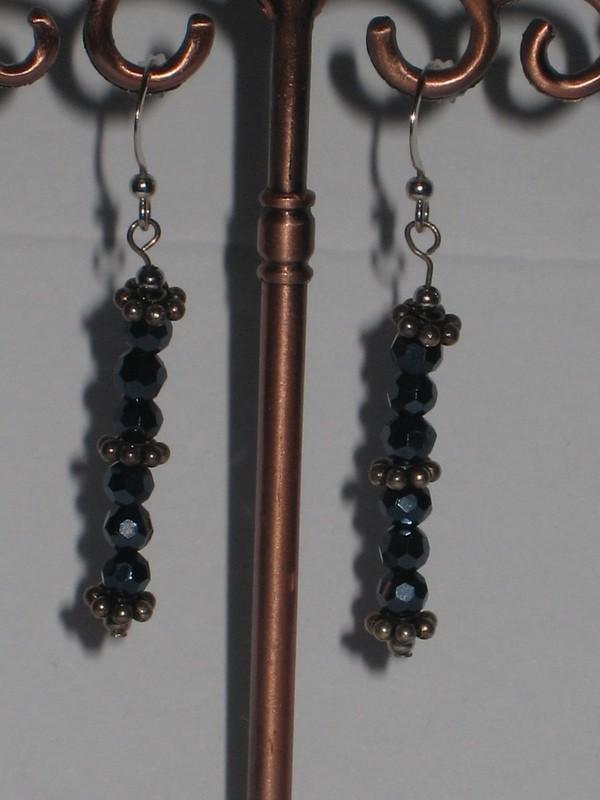 2 types - BLACK MAGIC EARRINGS / BOUCLES D'OREILLES DE MAGIQUE NOIR - 2 types