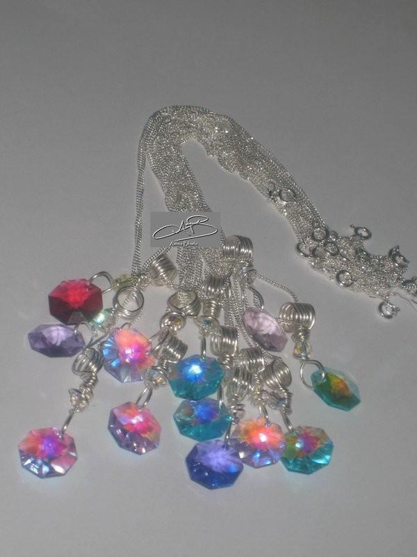 CHRISTINA NECKLACES- available in several colors /COLLIERS- disponibles en plusieurs couleurs