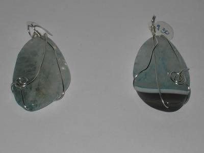 2 WATERWAYS PENDANTS/ 2 FLUVIANT PENDENTIFS