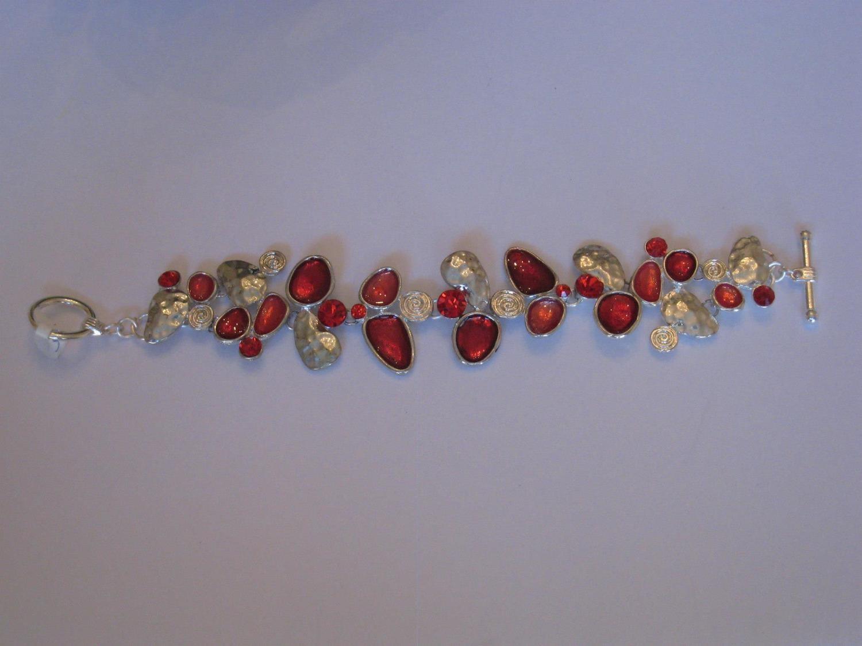 RED GRAPES BRACELET/  BRACELET ROUGE RAISINS