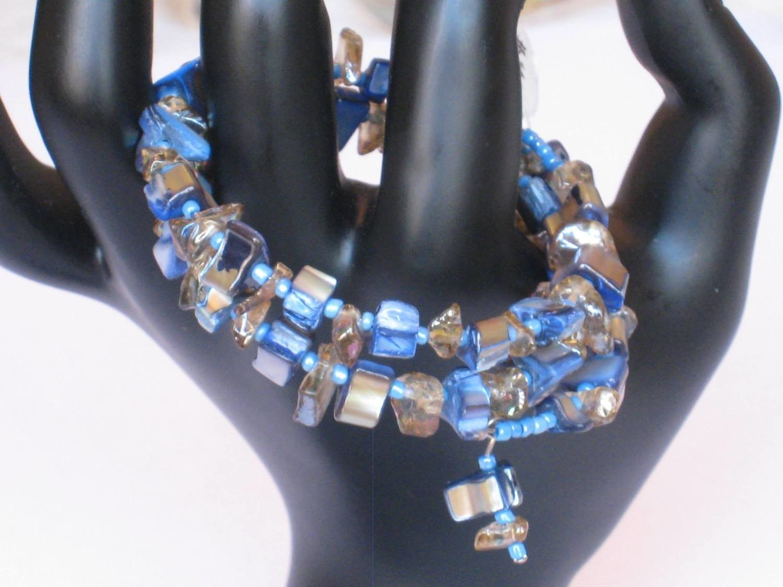 BLUE FANTASY BRACELET/ FANCTASIE BLEU