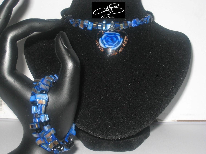 BLUE-ROSE CAPSULE SET/PARURE DE BLEU ROSE CAPSULE