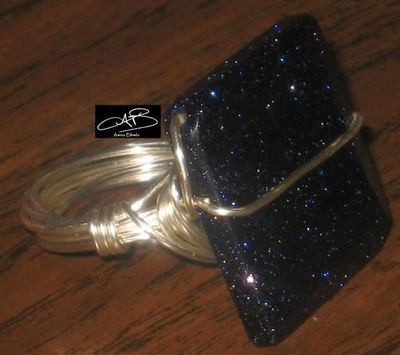 SPARKLING NIGHT RING/ ANNEAU DE SCINTELLANTE SOIREE