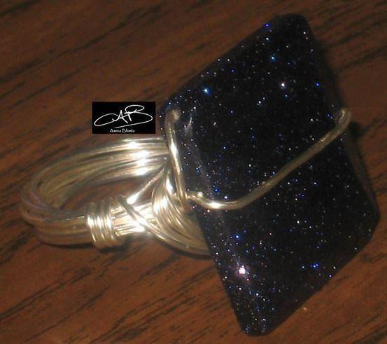 SPARKLING NIGHT RING/ ANNEAU DE SCINTELLANTE SOIREE