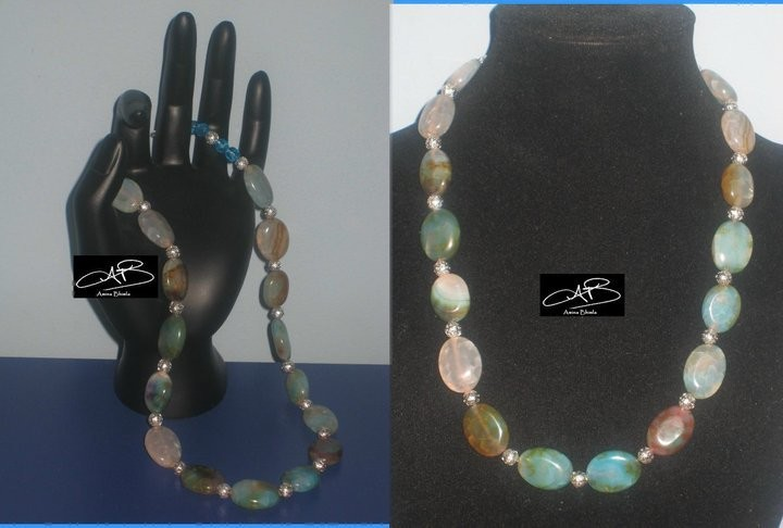 AGATED AFFAIR NECKLACE/ COLLIER AFFAIRE AGATE