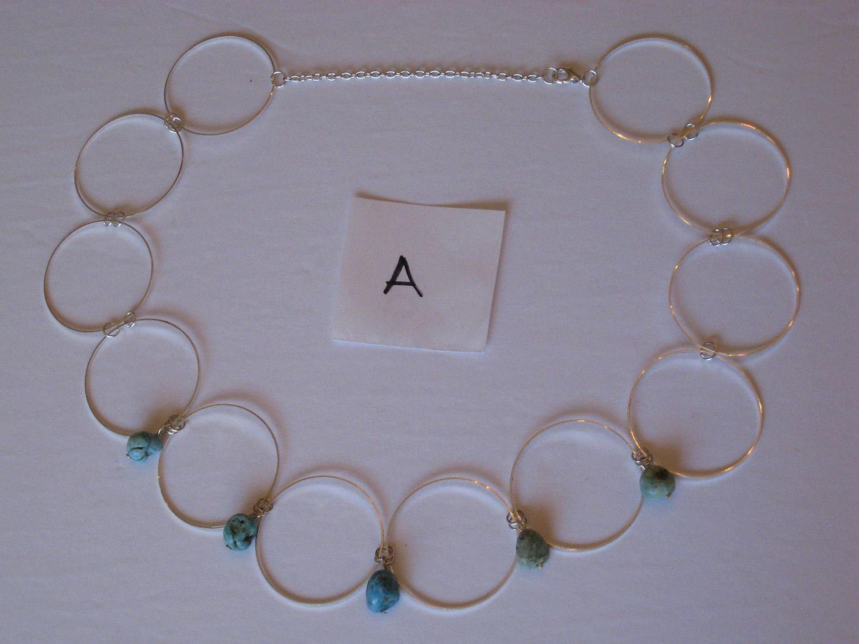 CIRLCES NECKLACES 2 A,B,AB/ COLLIERS DES CIRCLES 2 A,B,AB