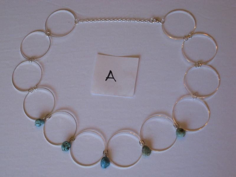 CIRLCES NECKLACES 2 A,B,AB/ COLLIERS DES CIRCLES 2 A,B,AB