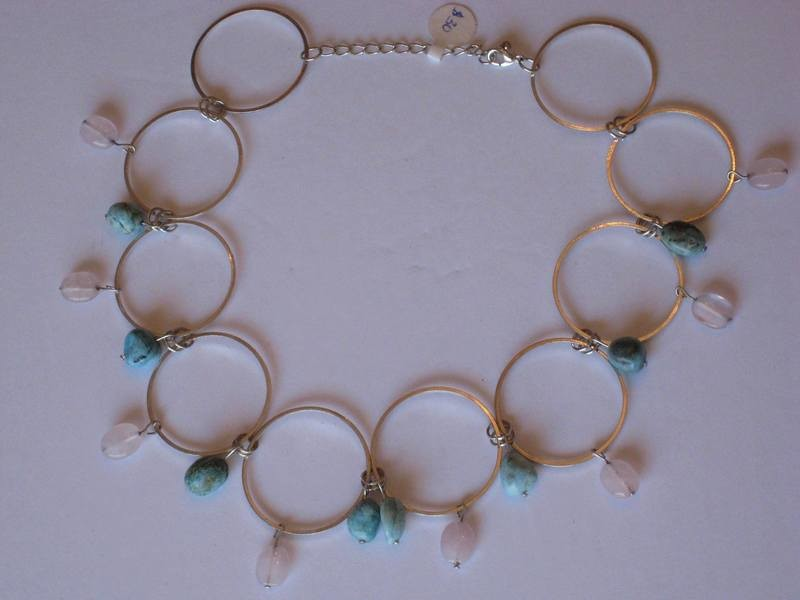 CIRCLES NECKLACE/ COLLIER DES CIRCLES
