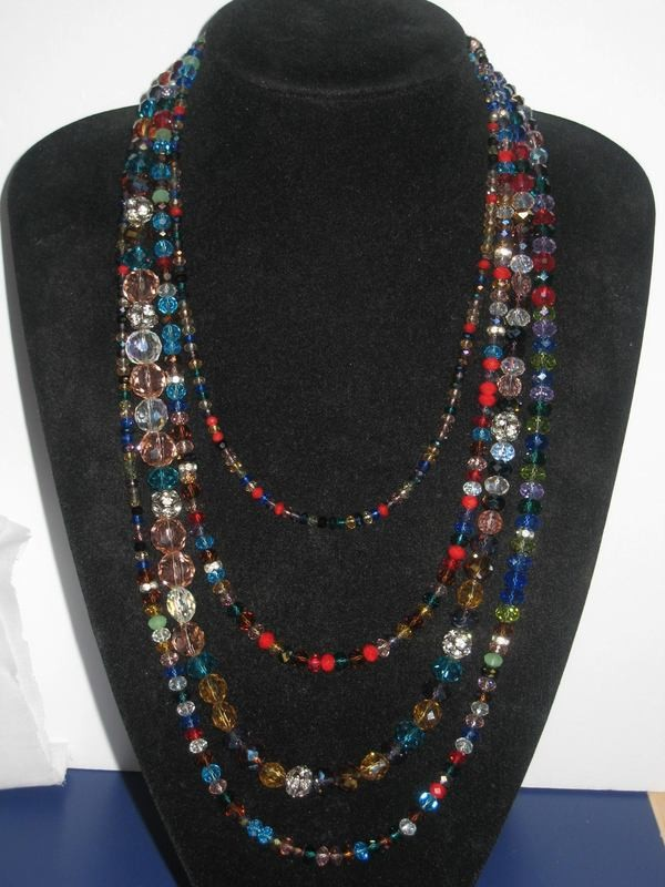 DYNAMIC NECKLACE/  COLLIER DYNAMIQUE