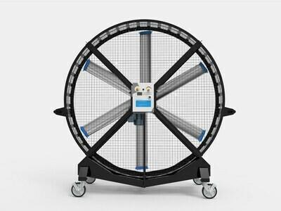 Flywheel - Large Portable Floor Fan