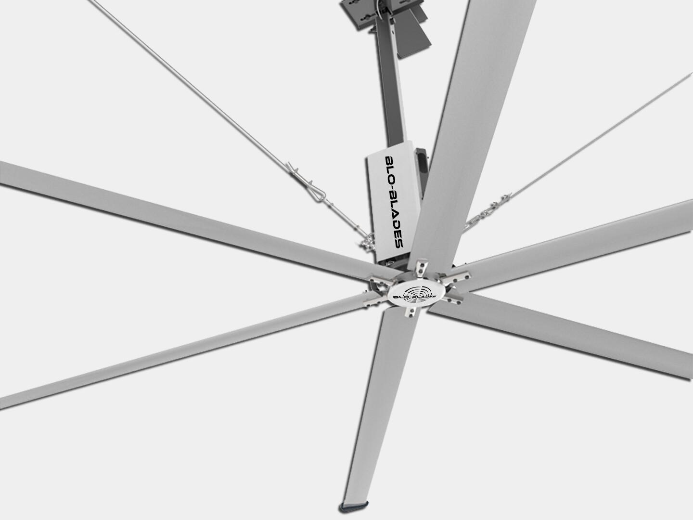 Aviator - HVLS Big Industrial Ceiling Fan