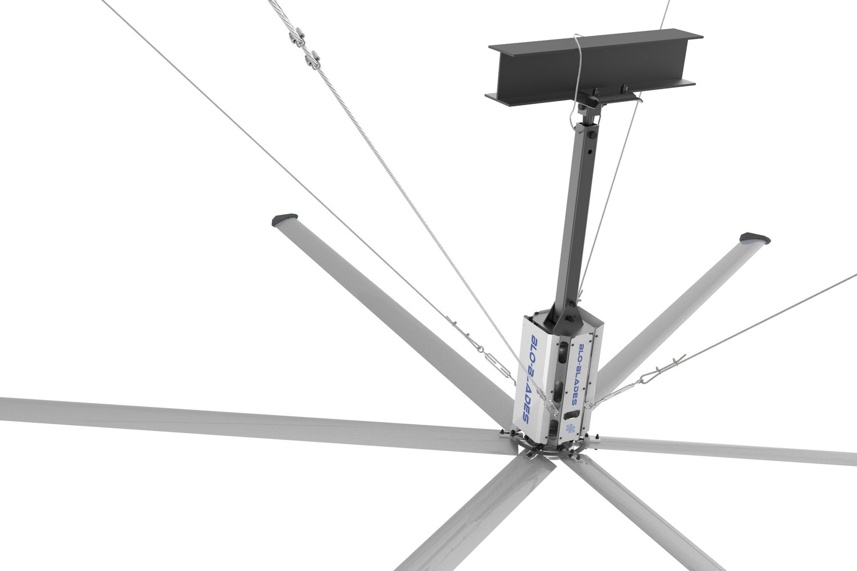 Mega Blo 16-ft Industrial - Commercial Ceiling Fan
