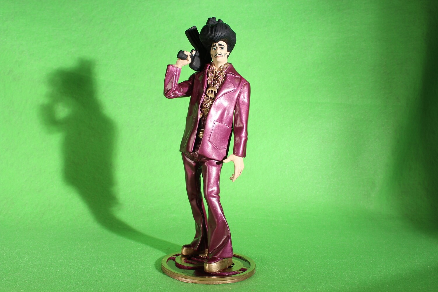 Painted Sleazy P. Martini Resin Statue
