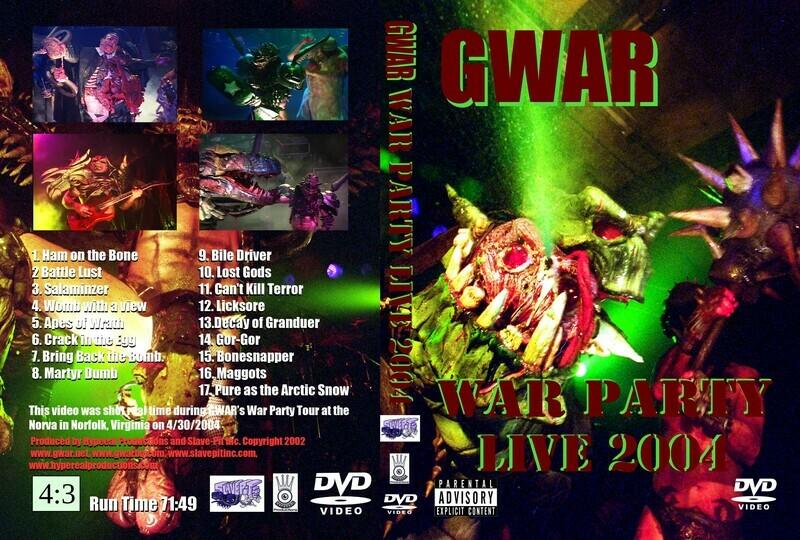 WAR PARTY DVD