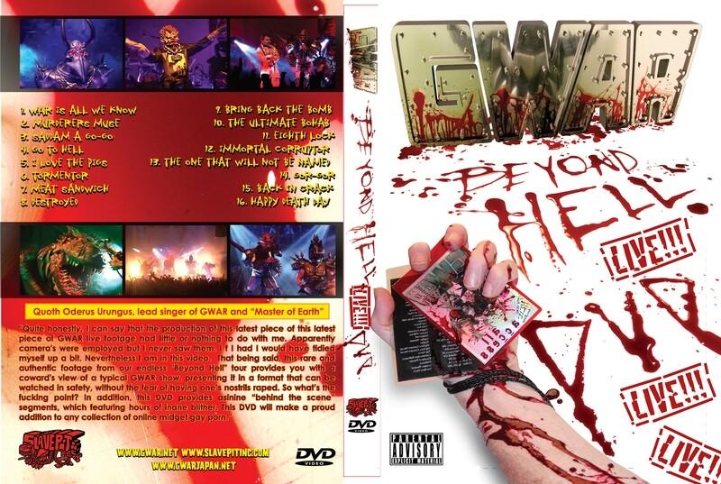 Beyond Hell DVD (International)