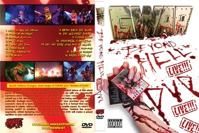 Beyond Hell DVD