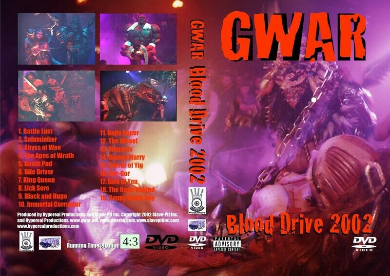 Blood Drive DVD