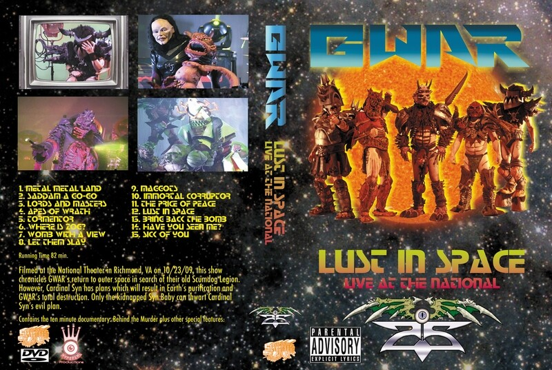 Lust in Space DVD