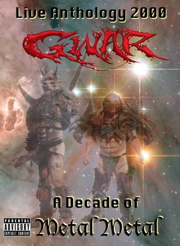 GWAR Live Anthology 2000 - A Decade of Metal DVD Box Set