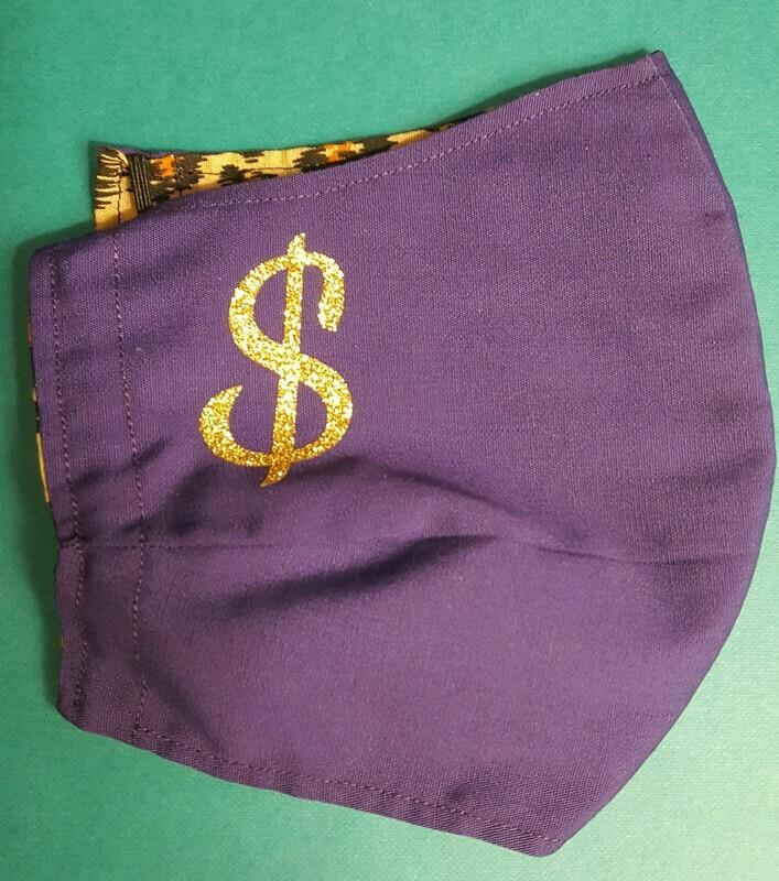 Purple Sleazy GWARantine Mask