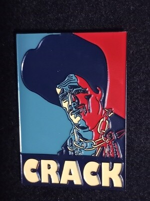 Unlimited Edition Sleazy Crack Pin (International Orders only)