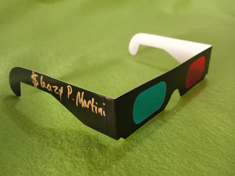 Sleazy 3-D Glasses