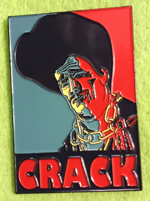 Red Edition Sleazy Crack Pin (International Orders Only)