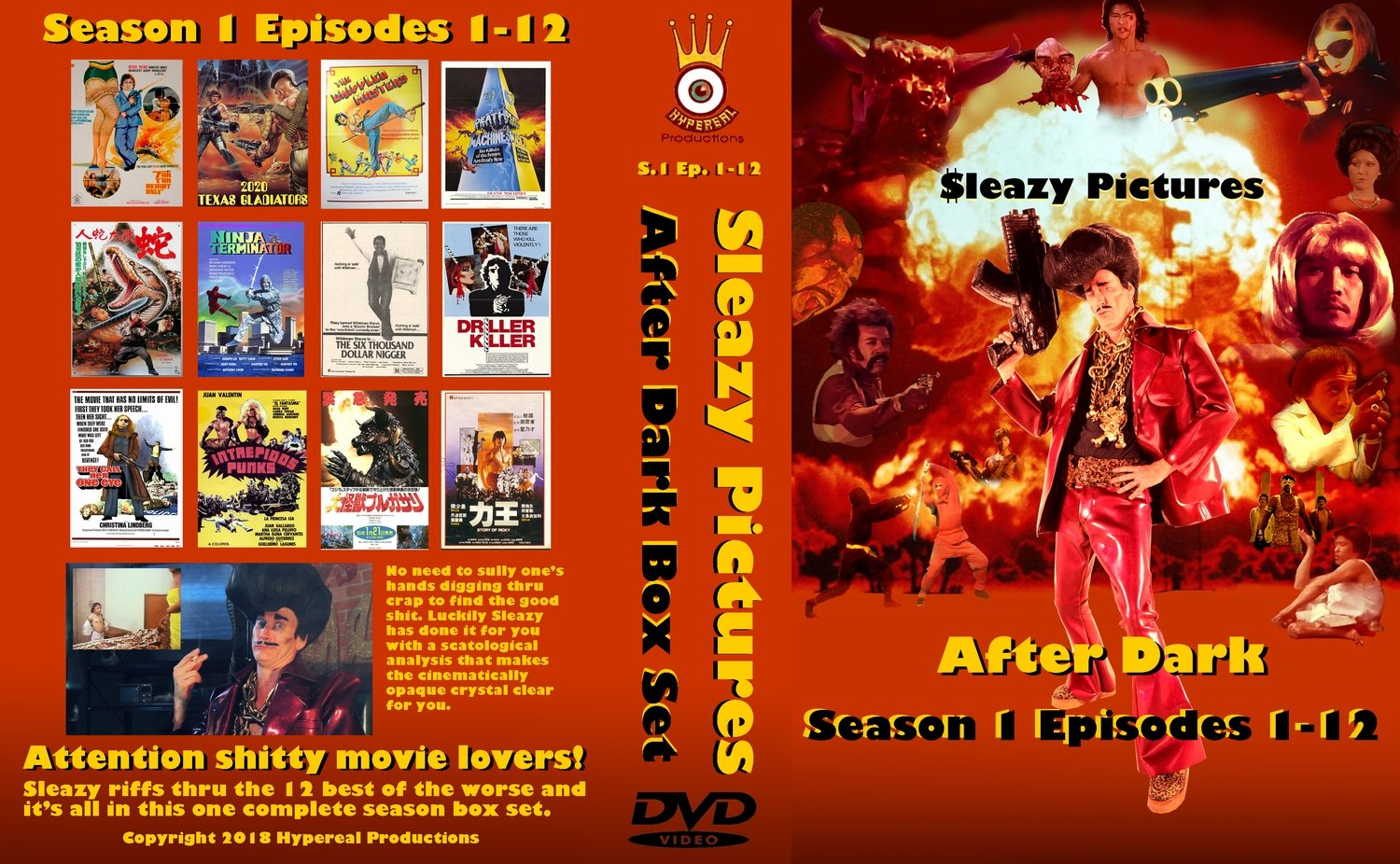 Sleazy Pictures After Dark - Season 1 DVD Box Set