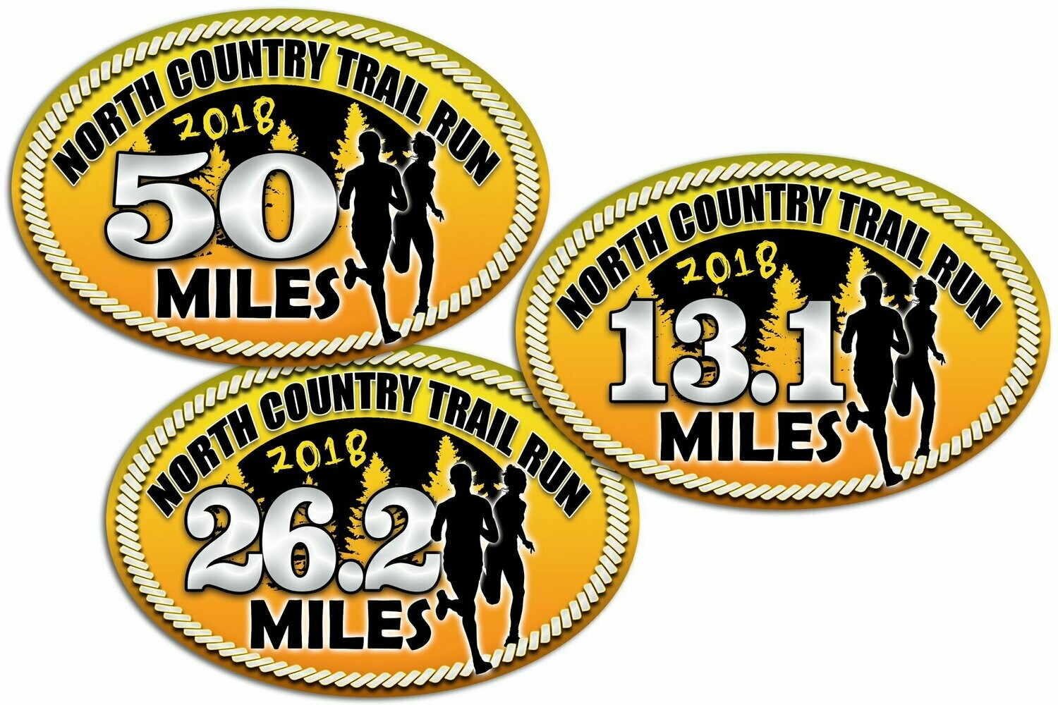 2018 Distance Stickers