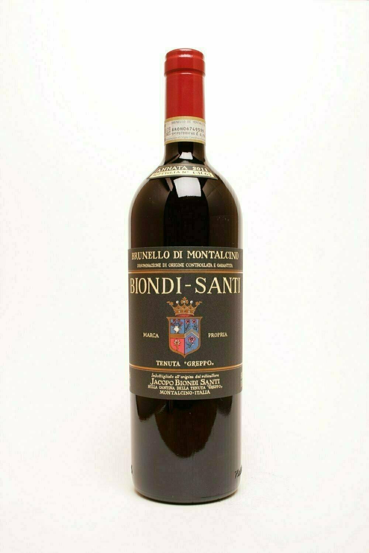 Biondi-Santi Brunello di Montalcino 2010  Original sealed wooden case of 12