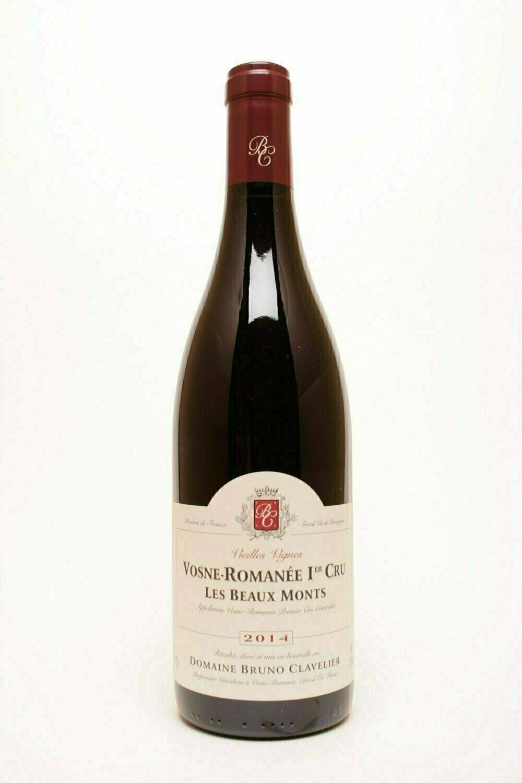 Domaine Bruno Clavelier Vosne-Romanée 1° cru  Les Beaux Monts VV 2014