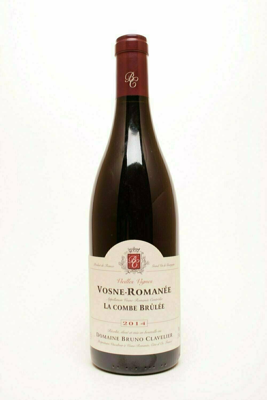 Domaine Bruno Clavelier Vosne-Romanée La Combe Brûlée VV 2016