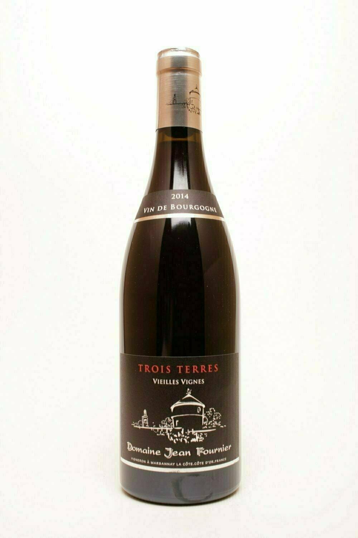 """Domaine Jean Fournier Marsannay """"Les Trois Terres""""  Vieilles Vignes 2014"""