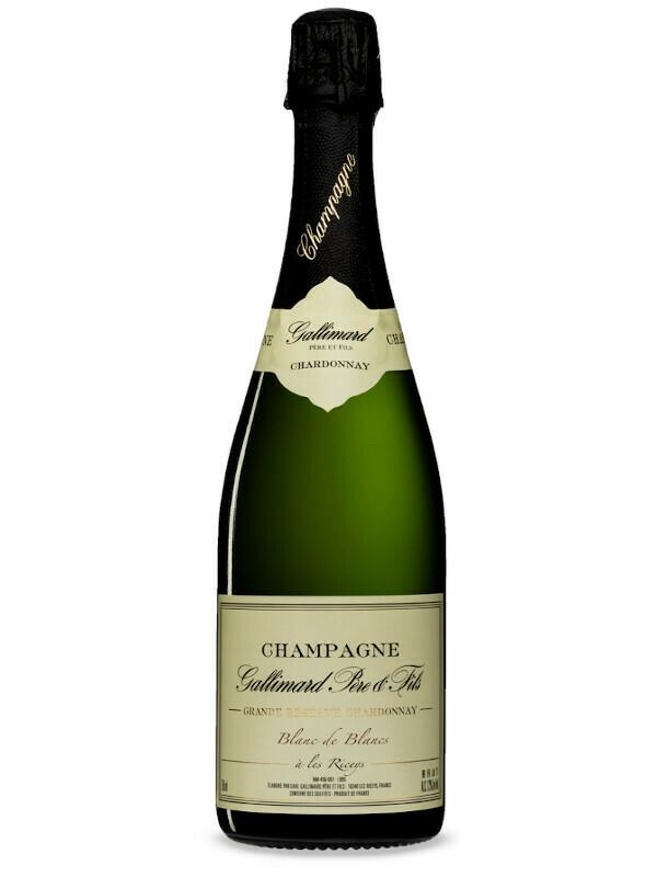 """Champagne Gallimard Pére & Fils Blanc de Blancs """"Grande Réserve Chardonnay"""" Brut"""