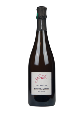 """Champagne Vouette & Sorbée Brut Nature """"Fidèle"""""""