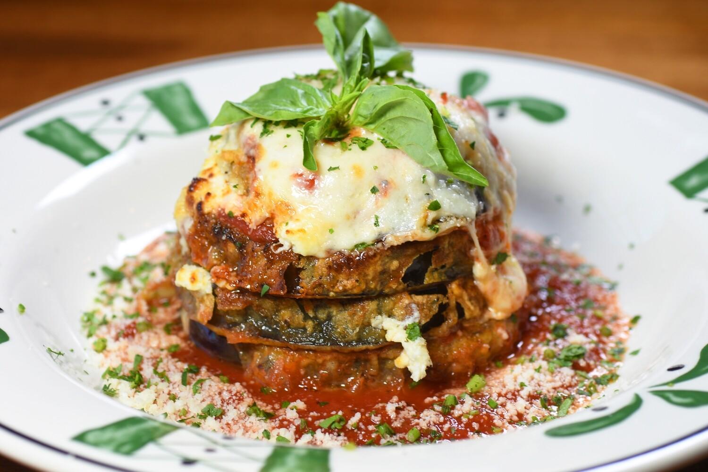 Melanzane Parmigiana Stack Meal