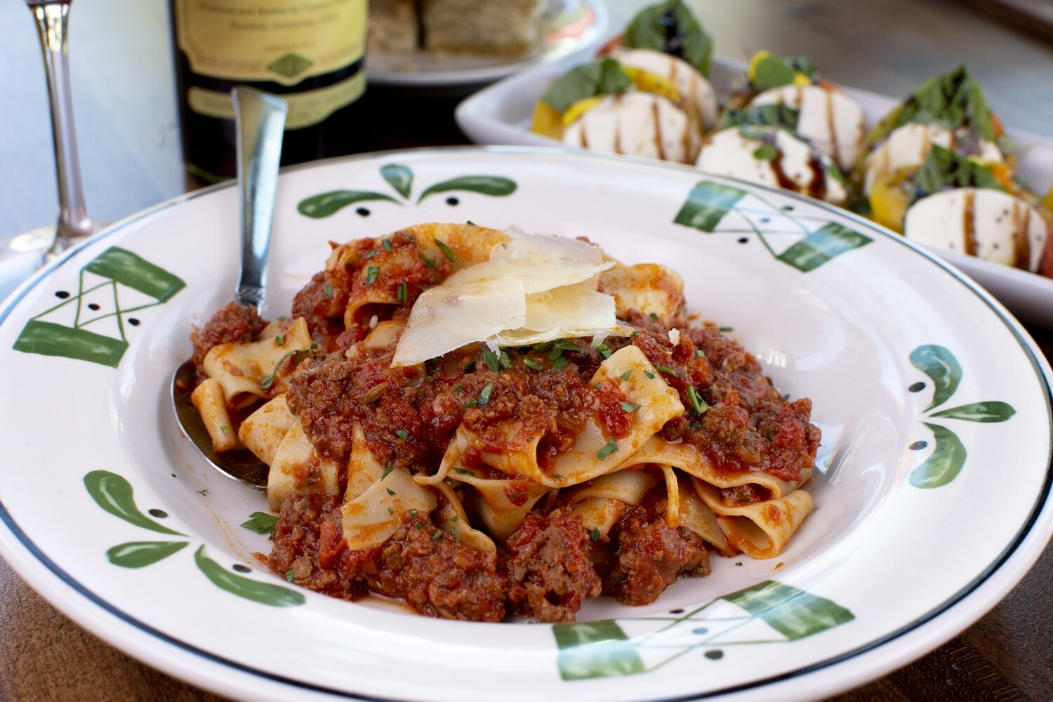 Pappardelle Bolognese Meal