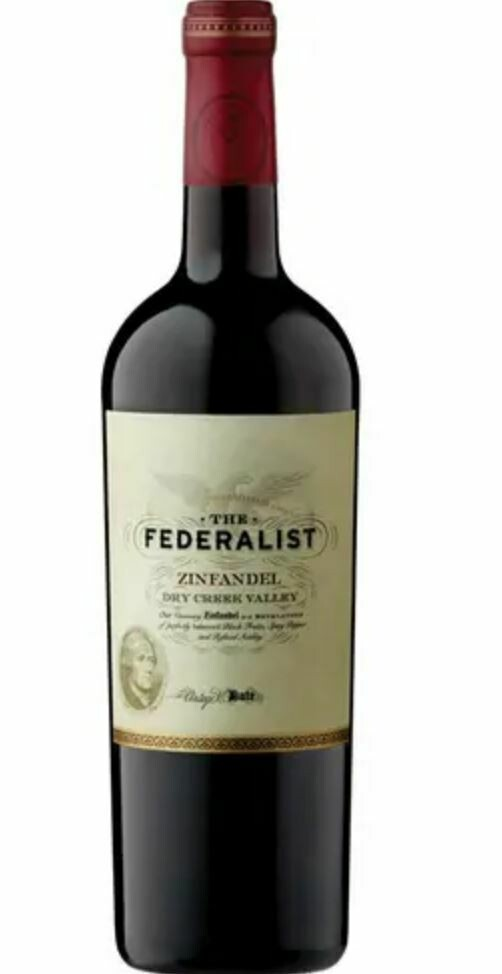 The Federalist, Zinfandel, Dry Creek Valley