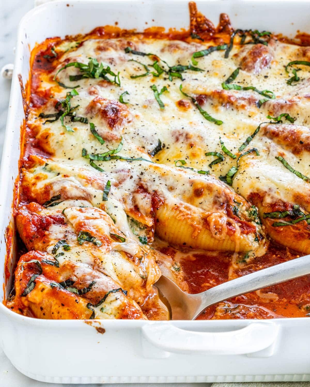 Mother's Day Family Style Stuffed Shells
