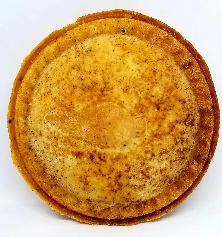 Gluten-free Vegetarian BBQ Pot Pies, pre-cooked, frozen, 10oz, 1 serving
