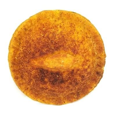 Vegetarian BBQ Pot Pies, pre-cooked, frozen, 10oz each