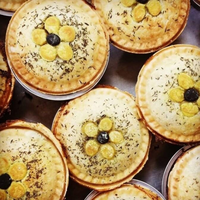 Gluten-Free Juneteenth (Hoppin' John) Pot Pie, pre-cooked, frozen, 10oz, 1 serving